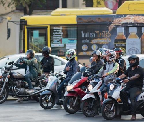 การสำรวจอัตราการสวมหมวกนิรภัยของผู้ใช้รถจักรยานยนต์ในประเทศไทย ปี พ.ศ. 2560