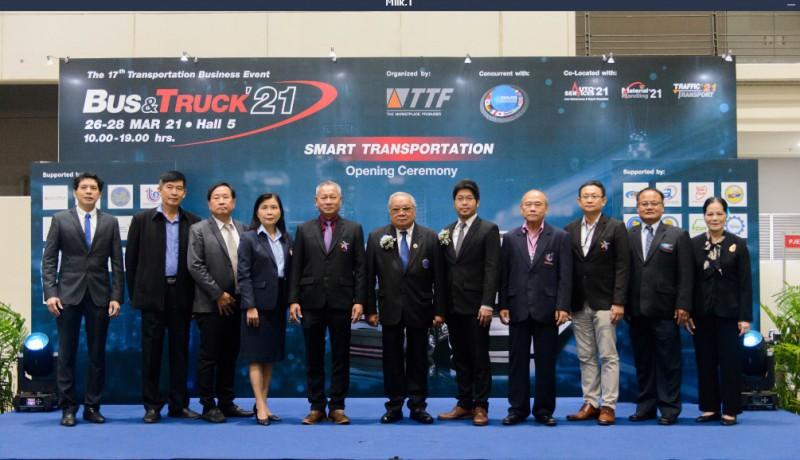 BUS&TRUCK' 21 มหกรรมธุรกิจการขนส่ง ครั้งที่ 17